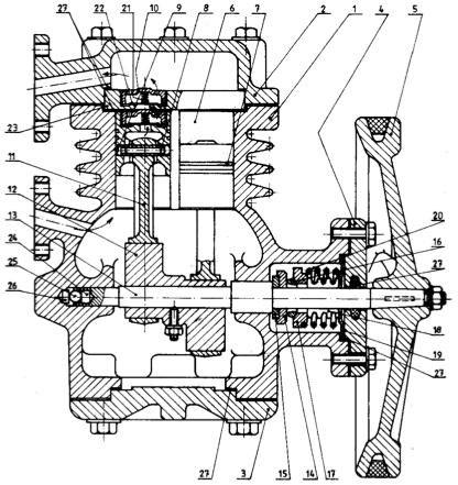 MANETA kompresor, obrázok z tretieho marca 1948